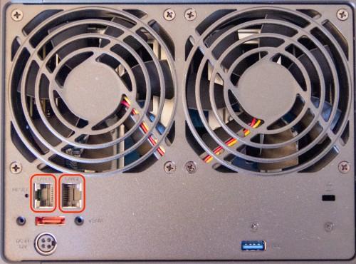 Synology NAS DS920 LAN 500x370 1Гбит + 1Гбит=2 Гбит: Настраиваем Link Aggregation между роутером Asus RT AX89X и Synology NAS DS920+
